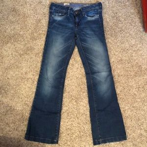Gap Long and Leans in a size 4